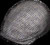 Grey Check Flat Cap.png