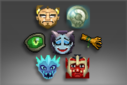 Pacote de Emoticons do International 2017 I