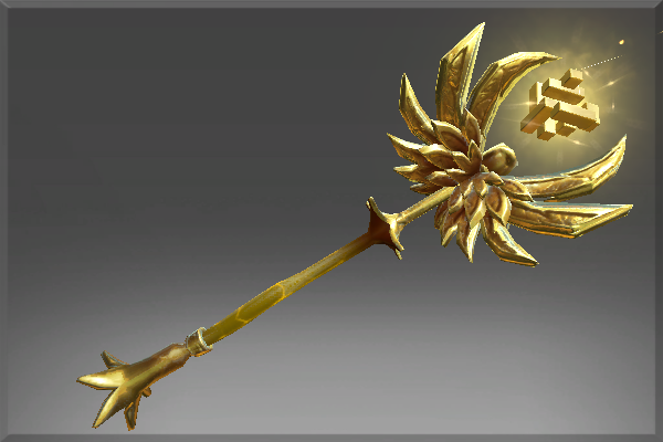 Cosmetic icon Golden Staff of Perplex.png