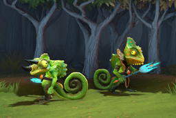 Reptilian Refuge Radiant Creeps