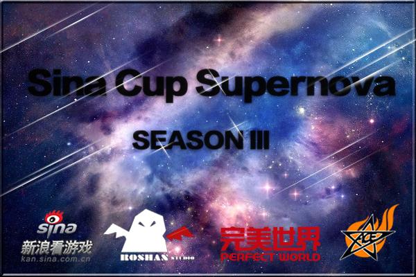 Sina Cup Supernova Season 3