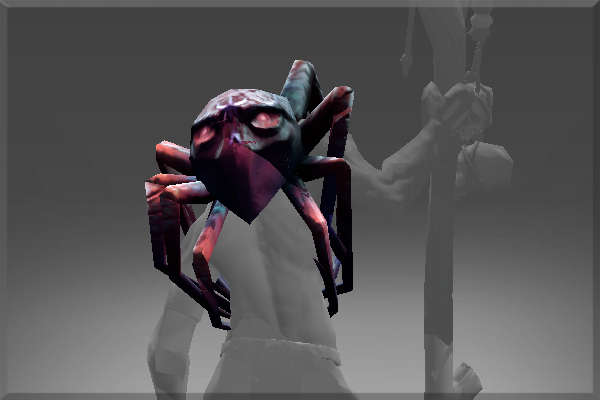 Spider Shoulders of Purple Nightmare