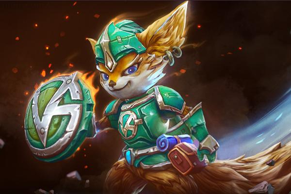 Загрузочный экран: Vigilante Fox