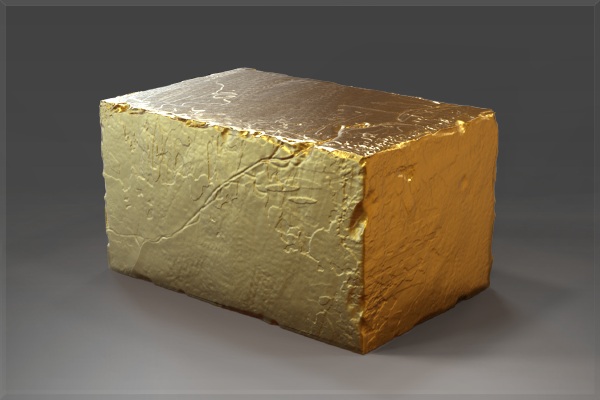 Golden Effigy Block of The International 2015
