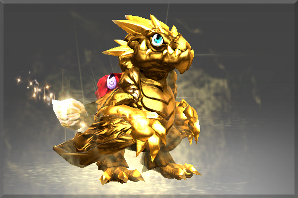 Cosmetic icon Wyvern Hatchling Golden Upgrade.png