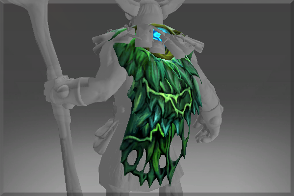 Great Moss Cape of the Fungal Lord