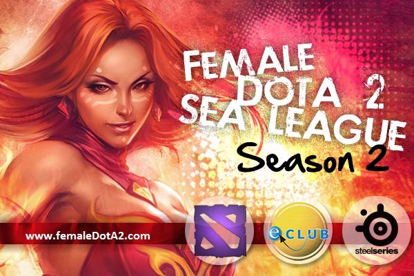Female Dota 2 Southeast Asia League Season 2