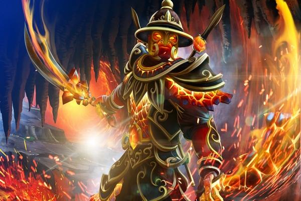 Загрузочный экран: Fires of the Volcanic Guard