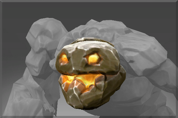 Cosmetic icon Head of the Igneous Stone.png