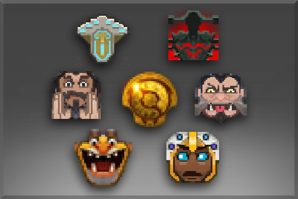 Pacote de Emoticons do International 2015 III