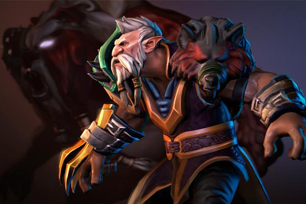 Загрузочный экран: The Wolf Hunter