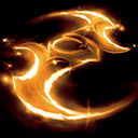 Golden Twilight Schism Moon Glaives icon.png