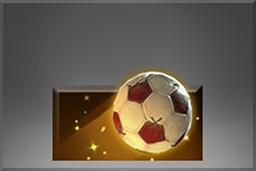 The International 10: расходный футбольный мяч