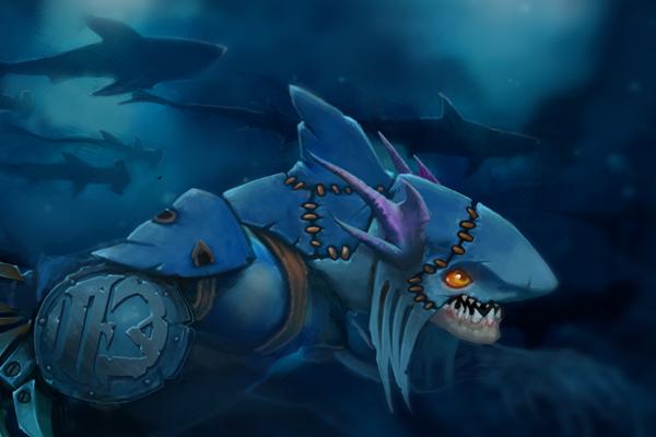 Загрузочный экран: Dark Reef Escape