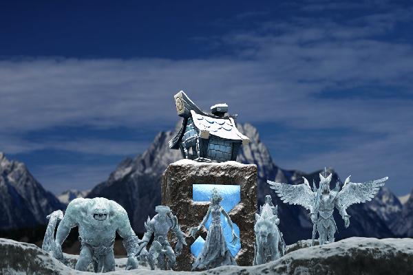 Загрузочный экран: The Summit 3