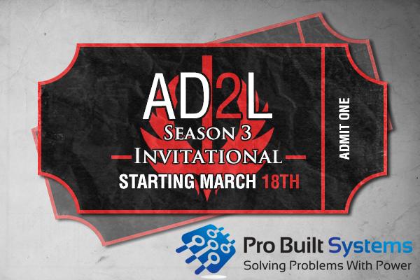 Amateur Dota 2 League Season 3 Invitational Ticket