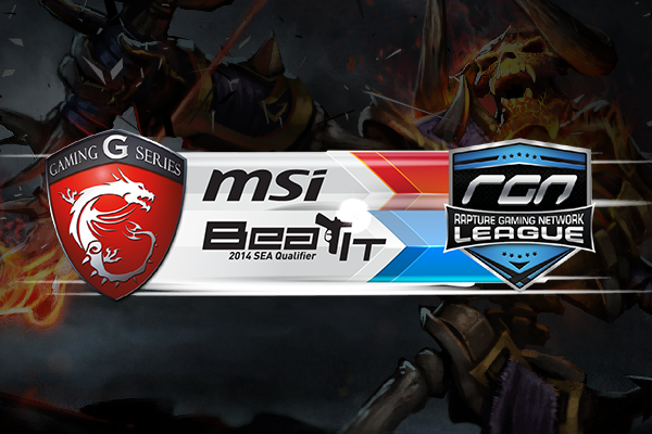 MSI BeatIT RGN League SEA Qualifier