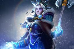 Загрузочный экран: Ascendant Crystal Maiden