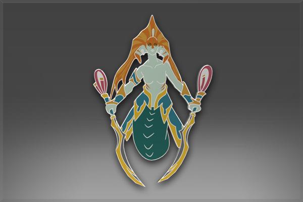 Классический значок: Naga Siren