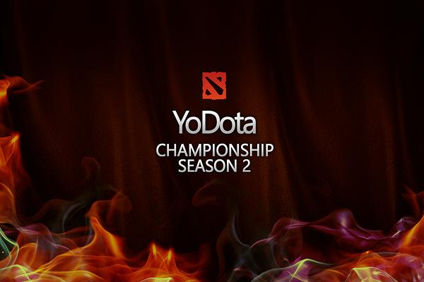 Загрузочный экран: YoDota Championship Season 2