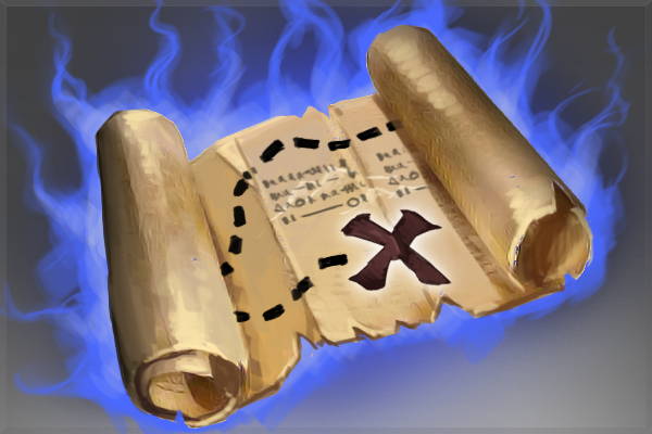 Cosmetic icon Rare Quest Scroll.png