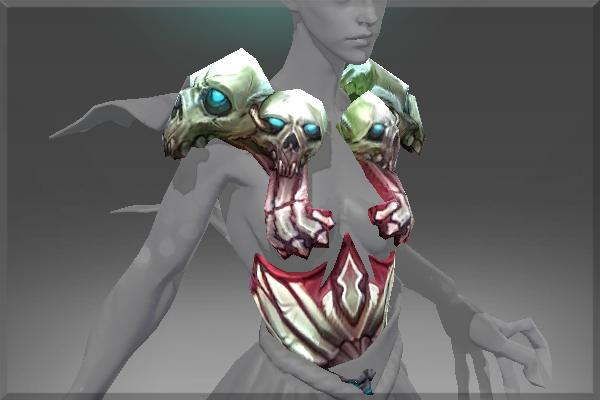 Decorative Armor of the Bone Scryer