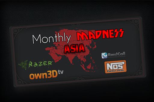 It's Gosu Monthly Madness Asia (Ticket)