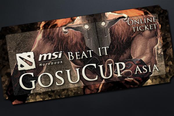 MSI Beat IT GosuCup Asia