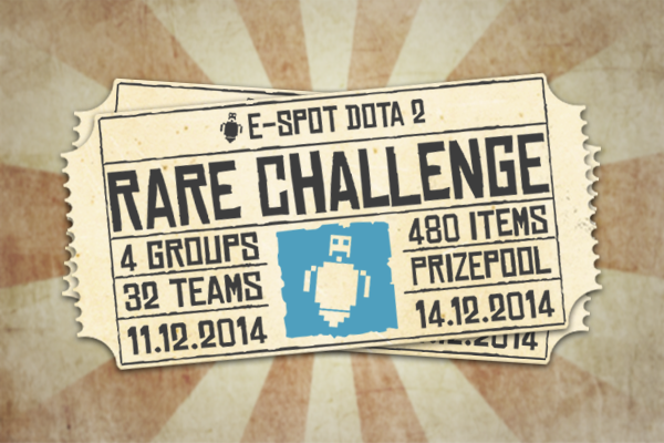 E-Spot Dota2 Rare Challenge