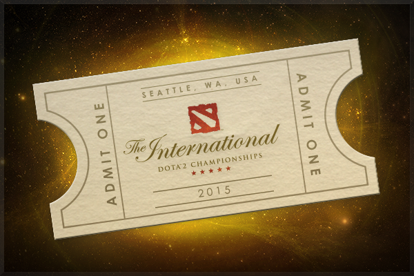 The International 2015 (Ticket)