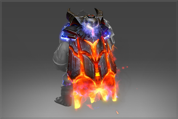 Mantle of the Cinder Baron Upgrade