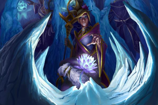Загрузочный экран: Icebound Floret
