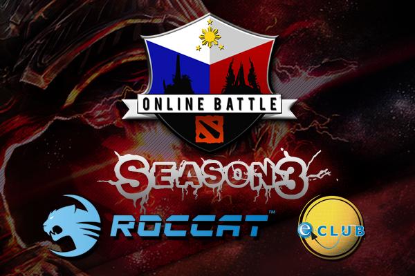 PinoyDota Online Battle Season 3