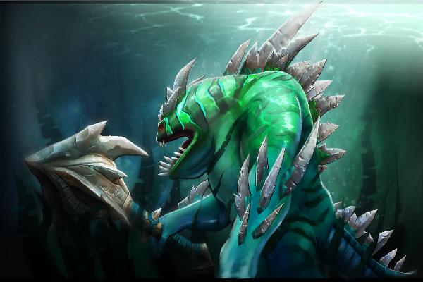 Загрузочный экран: Tidosaurus