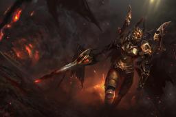 Загрузочный экран: Daemonfell Flame