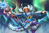Lady of the Lumini Polare Loading Screen