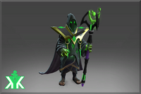 Garb of the Cruel Magician Set