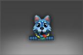 Aurora: Wolf Pup of Icewrack Emoticon