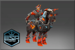 Cosmetic icon Arms of Burning Turmoil Set.png