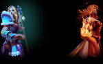 Crystal Maiden Lina Steam Profile Background.png