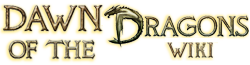 Dawn of the Dragons Wiki Wordmark