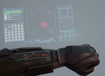 UI integrated into the nanoformer
