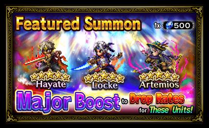 Unit Release: Hayate, Locke, and Artemios