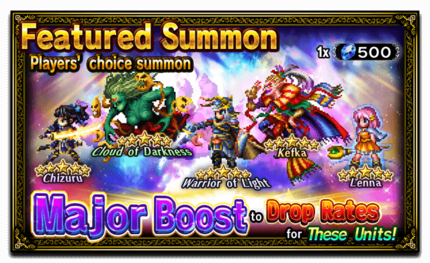 Featured Summon Players' Choice