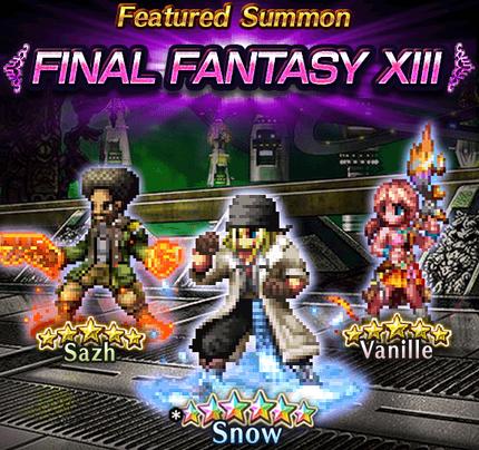 Featured Summon Final Fantasy XIII