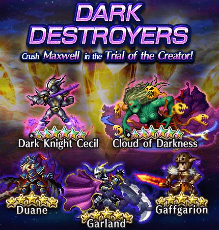 Featured Summon Dark Destroyers