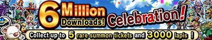 6 Millions Downloads Celebration!