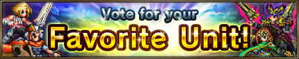 Vote for your Favorite Unit!