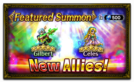 Unit Release: Gilbert and Celes