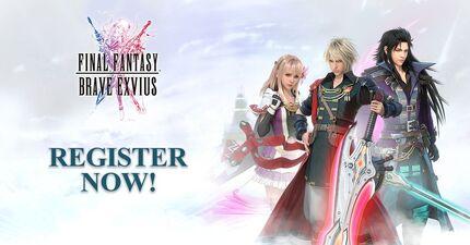 Final Fantasy Brave Exvius Pre-registration